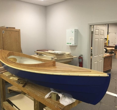 Wooden Fiddlehead Canoe RAFFLE