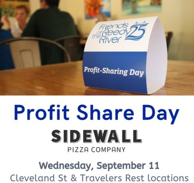 Sidewall Pizza Profit Share Day