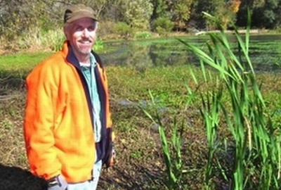 Man's action helped revive neglected, polluted lake