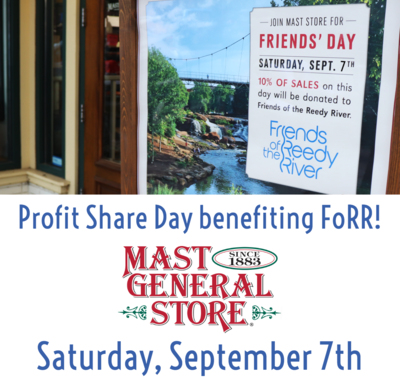 Mast General Store Profit Share Day
