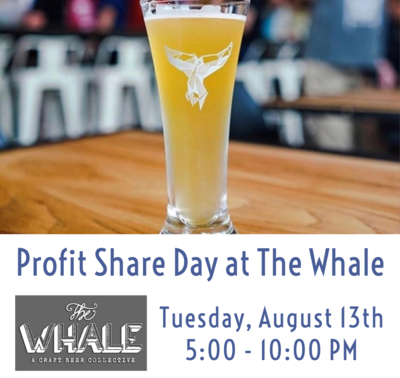 Profit Share Day at The Whale