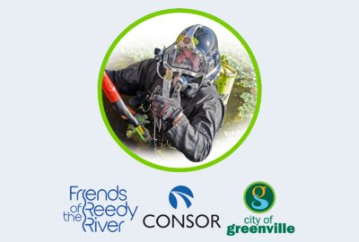 Underwater Cleanup in the Reedy River