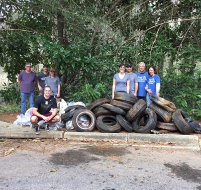2017 Reedy River Spring Clean Up