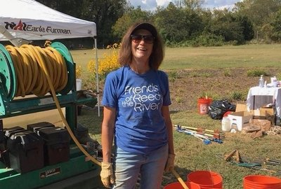 FoRR's Nikki Grumbine named 2019 Clean Water Champion by Upstate Forever