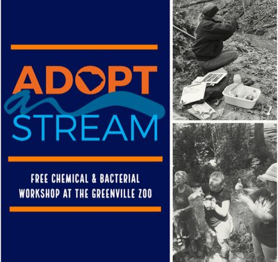 SC Adopt-a-Stream Chemical & Physical Workshop at the Greenville Zoo