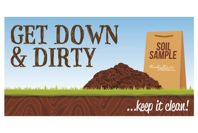 Reedy River Water Quality Group's New Campaign- Get Down & Dirty!