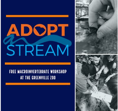 SC Adopt-a-Stream Macroinvertebrate Workshop at the Greenville Zoo