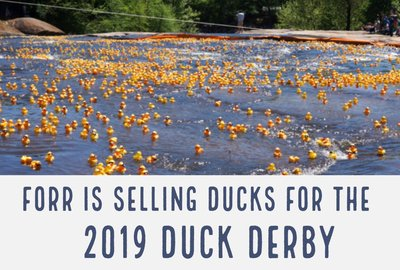 "FoRR is Selling Ducks for ""Adoption""!"